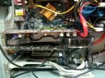 Zajęte dwa sloty PCI